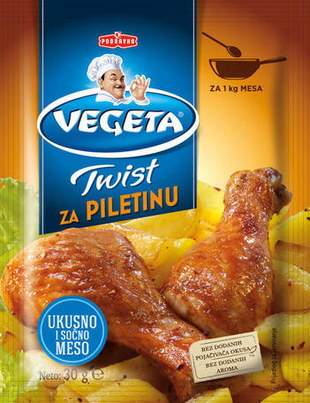 Vegeta Twist za piletinu