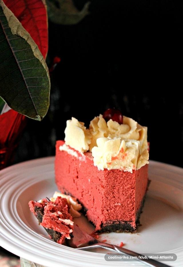 Red Velvet Cheesecake...
