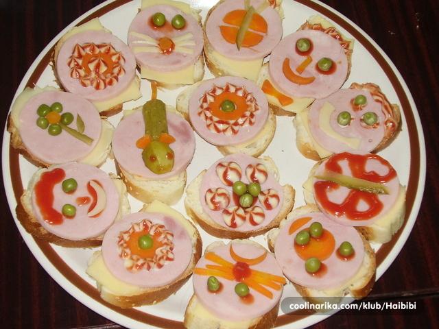 mali sendviči za rođendan Rođendanski sendviči za djecu — Coolinarika mali sendviči za rođendan