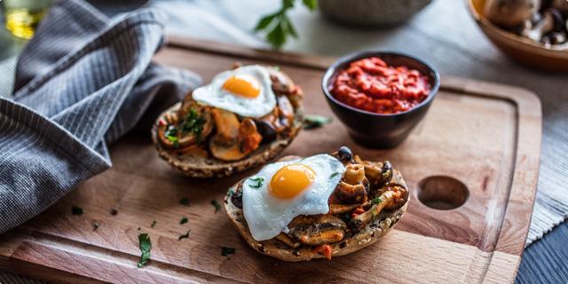 Gljive na sendviču