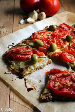 Flatbread caprese by Mucika