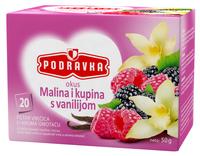 Podravka čaj malina i kupina s vanilijom
