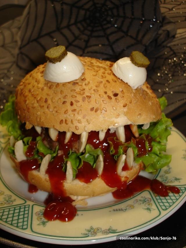 Vampir hamburger