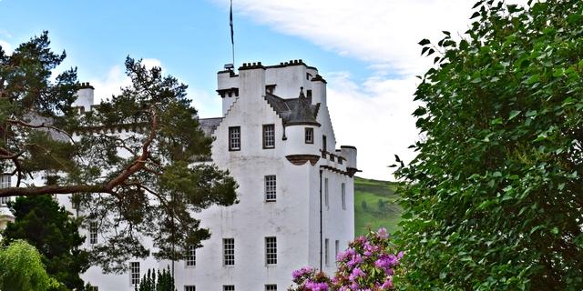 ღ Scotland dvorac Blair & destilerija Blair Atholl