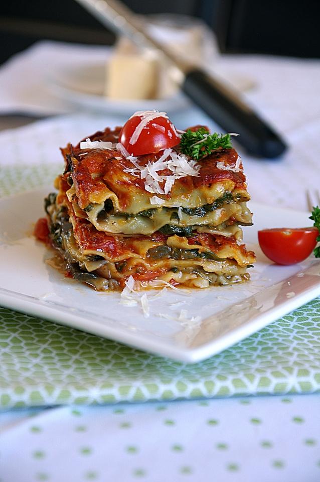 Vege lazanje sa patlidzanom i spinatom! - zocacro