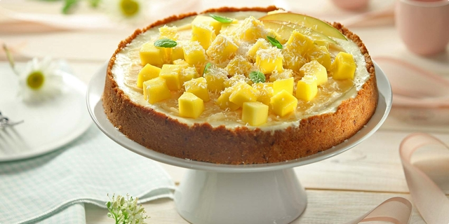 Kokos mango torta