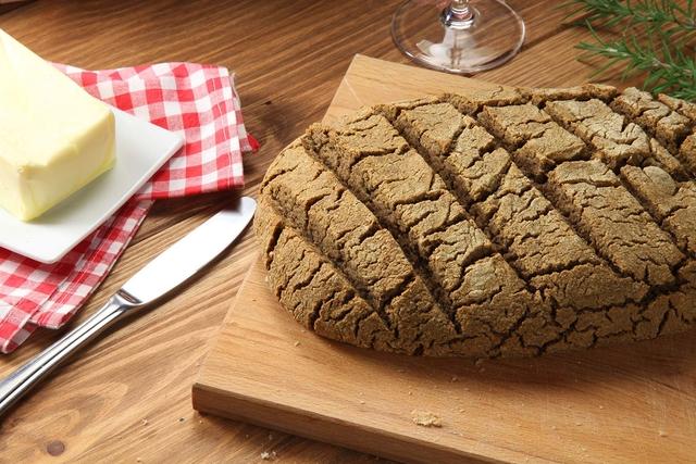 Bezglutenski miješani kruh
