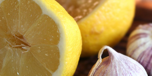 Bjeli luk i limun, za eliksir