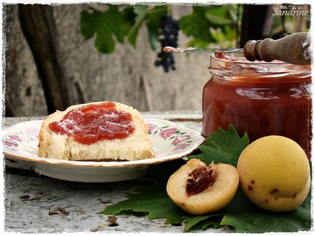 Džem od vinogradskih breskvi - sandrine