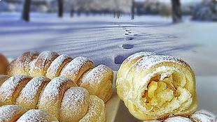 Kremaste pariške vanilin kiflice by Milicza