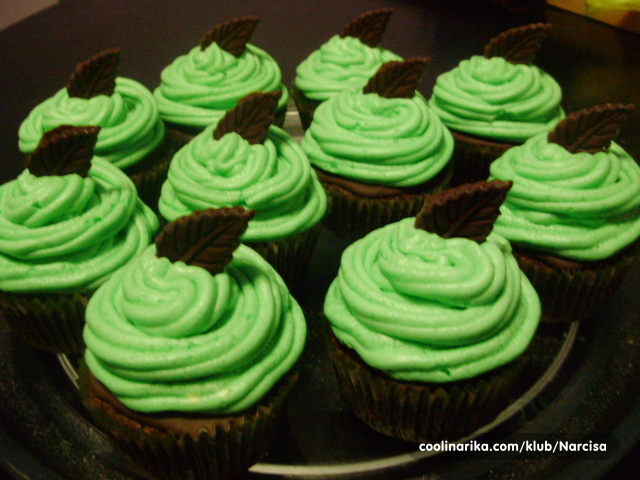 after eight cupcakes recept