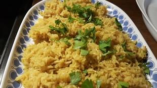 Indijska začinjena riža