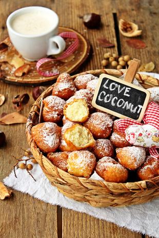 Kokos krofnice