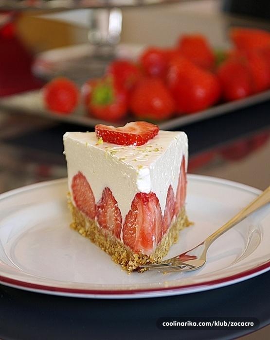 Torta s jagodama koja se ne pece!