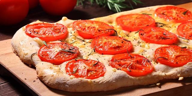 Focaccio a la pizza