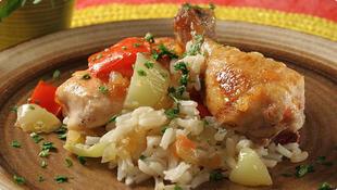Piletina s rižom iz pećnice