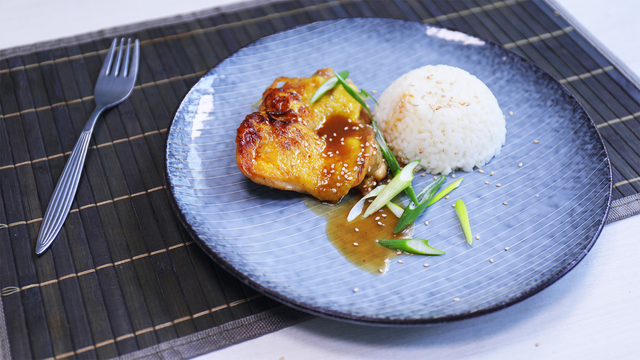 Glazirana piletina s đumbirom