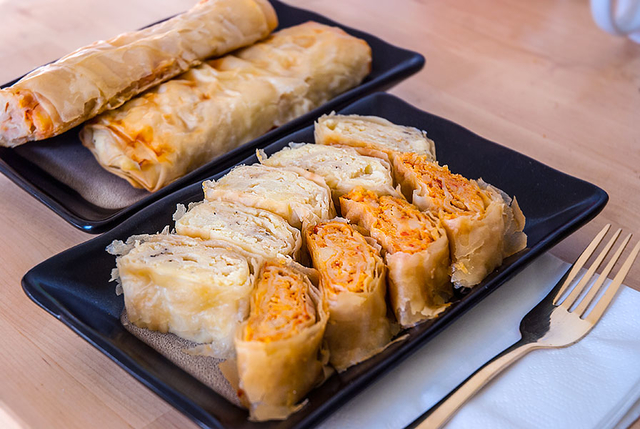 Burek paketici sa krumpirom - Elune