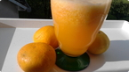 smoothie od mandarina