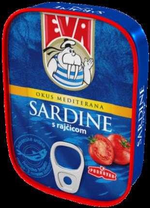Eva Sardine s rajčicom