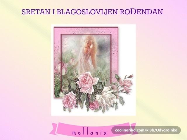 sretan i blagoslovljen rođendan mellania   SRETAN I BLAGOSLOVLJEN ROĐENDAN !!!!! — Coolinarika sretan i blagoslovljen rođendan