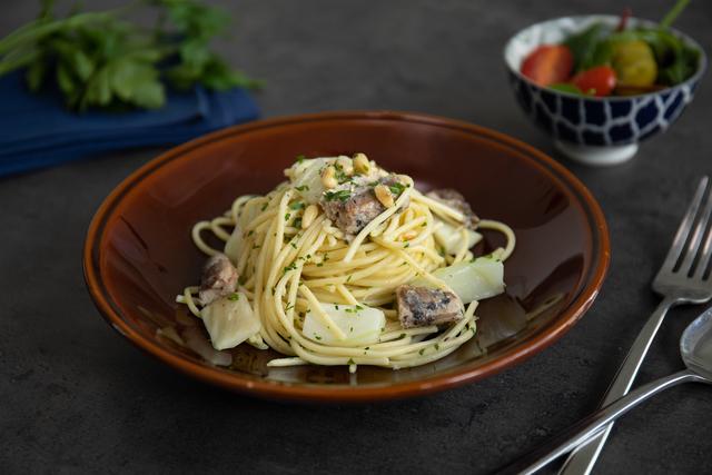 Brzi mediteranski špageti
