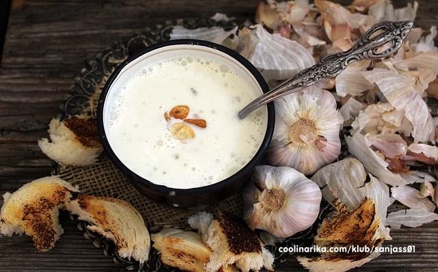 Knoblaushsuppe/njemačka krem juha od češnjaka od Mucika