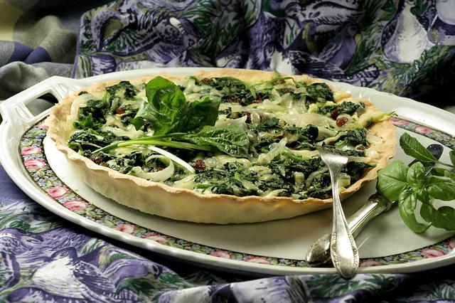 Pita sa začinskim biljem i povrćem