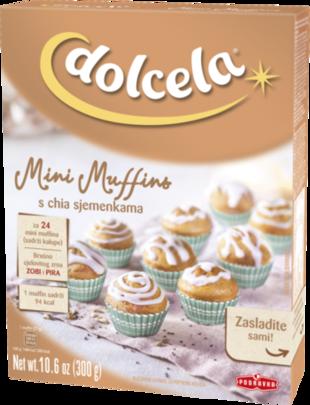 Dolcela Mini muffins s chia sjemenkama