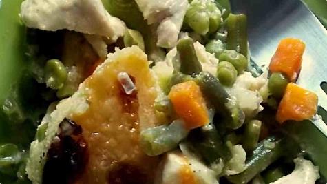 Piletina i povrće...
