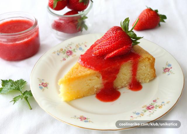 Sočna griz torta