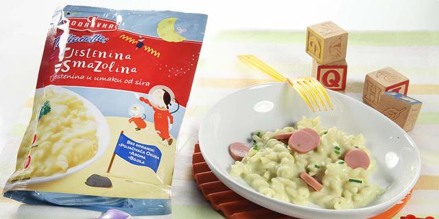 Hrana nestaje s tanjura uz Podravka dječje juhe i tjestenine