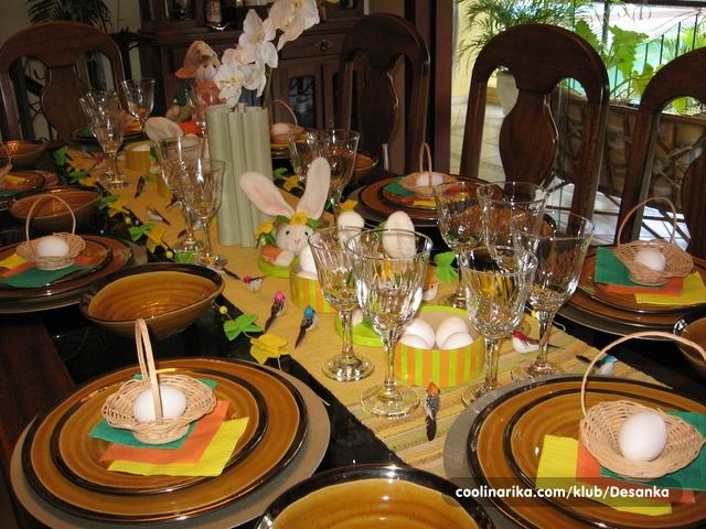 slike dekoracija za uskrs Dekoracija stola za Uskrs — Coolinarika slike dekoracija za uskrs