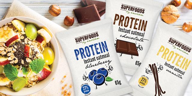 Prve proteinske instant kaše!