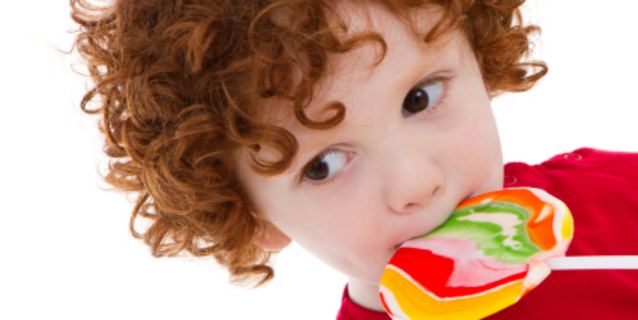 Slatkiši u prehrani djece