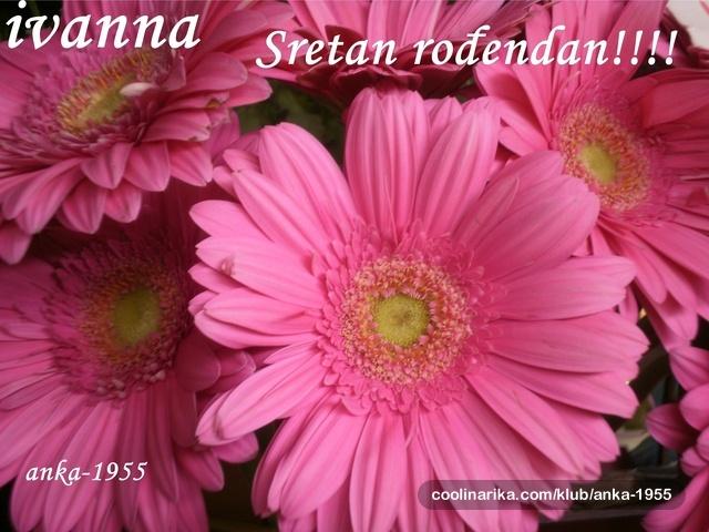 sretan rođendan ivana Ivana Ƹ̵̡Ӝ̵̨̄Ʒ Sretan rođendan!!!!Ƹ̵̡Ӝ̵̨̄Ʒ — Coolinarika sretan rođendan ivana