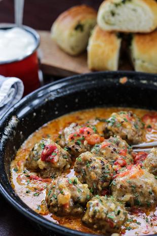 Ćufte u sosu od paprika i vrhnja