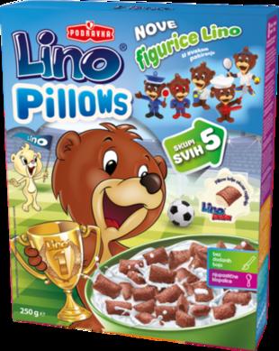 Lino Pillows - jastučići punjeni Lino ladom milk
