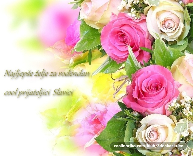 želje za rođendan prijateljici Čestitka, Cool prijateljici Slavici — Coolinarika želje za rođendan prijateljici