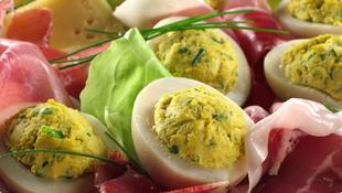 Punjena jaja s hrenom