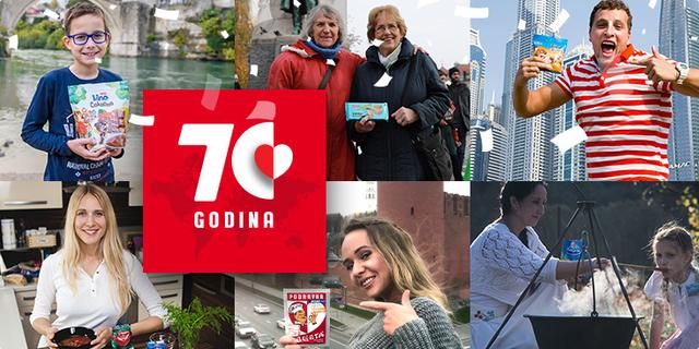 Slavimo 70 godina Podravke
