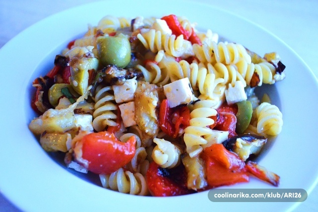 Mediteranska pasta salata - ARI26
