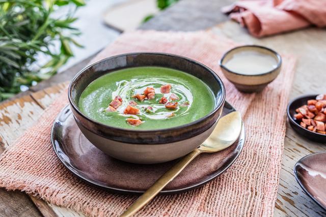 Krem juha od kelja s kobasicama