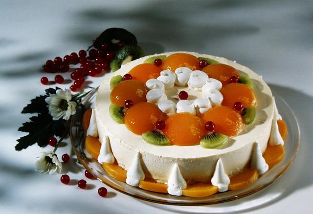 Parfe torta s marelicama