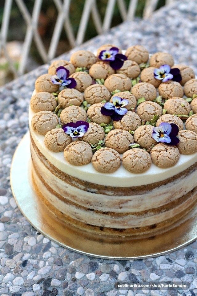 Mramorna torta s linolada kremom