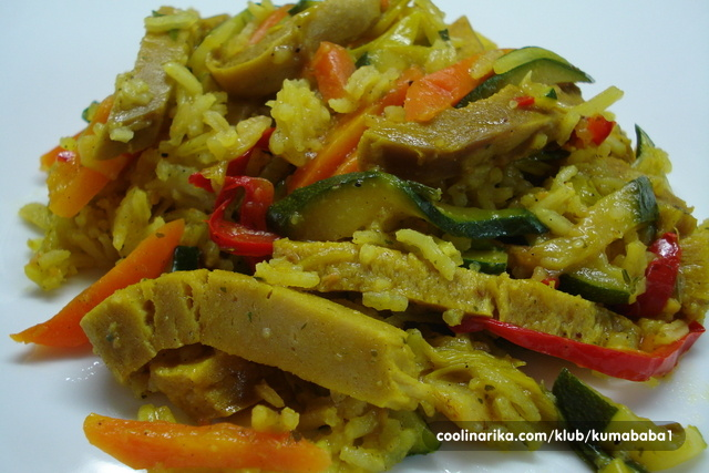 Povrće iz woka sa seitanom