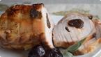 Peceno svinjsko kare punjeno suvim sljivama