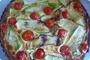 Tart sa tikvicama i cherry paradajzom