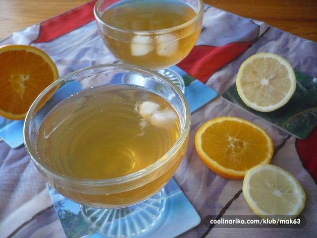 Domaći ledeni čaj;)
