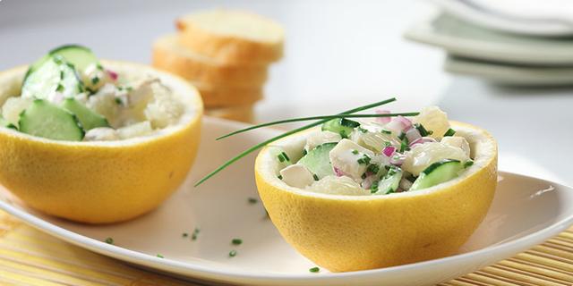 Salata sa sirom i grejpom